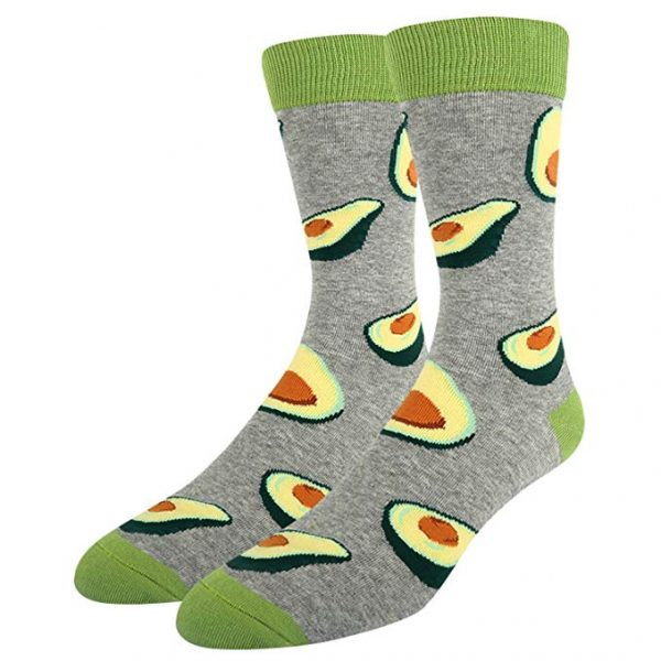 Avocado Novelty Socks Light green 1